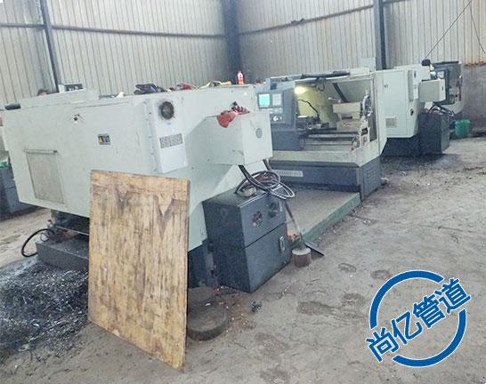 平焊法兰生产加工用数控机床